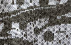 Abstrakt begrepp stack textur som bakgrund av grå färg- och vittrådar Royaltyfri Foto