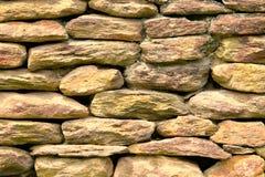 abstrakt begrepp stenar väggen Arkivfoto
