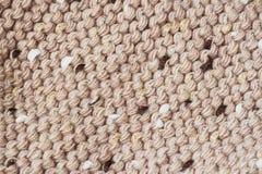 Abstrakt begrepp stucken melangeullhorisontalbakgrund Mjuk fluffig textur Fotografering för Bildbyråer