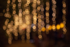 Abstrakt begrepp tänder jul Royaltyfri Foto