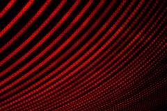 abstrakt begrepp tänder red Elektricitet i geometrisk form Mönstra att bilda punkter arkivbilder