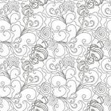 abstrakt begrepp tecknad seamless handmodell Royaltyfri Foto