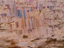Abstrakt begrepp texturerad bakgrund - olje- målning Royaltyfria Foton