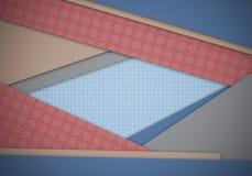 Abstrakt begrepp texturerad materiell design för form för bakgrund Royaltyfria Bilder