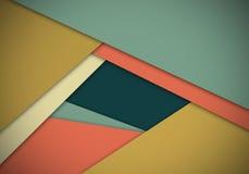 Abstrakt begrepp texturerad materiell design för form för bakgrund Arkivfoto