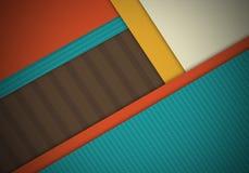 Abstrakt begrepp texturerad materiell design för form för bakgrund Fotografering för Bildbyråer