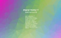 Abstrakt begrepp texturerad polygonal oskarp triangelbakgrund Arkivfoton