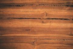 Abstrakt begrepp texturerade träbakgrund, yttersidan av det bruna teet Arkivbilder