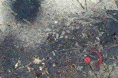 Abstrakt begrepp texturerat bakgrund-grungy metallslut upp Arkivfoton