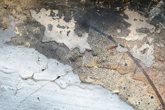 Abstrakt begrepp texturerat bakgrund-grungy metallslut upp Royaltyfria Foton