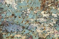 Abstrakt begrepp texturerat bakgrund-skrapat metallslut upp Arkivfoton