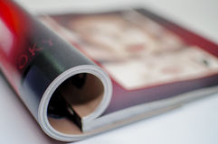 Abstrakt begrepp - tidskrift Arkivbild