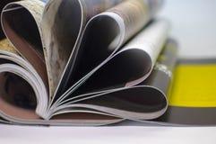 Abstrakt begrepp - tidskrift Arkivfoto