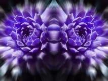 Abstrakt begrepp ultra Violet Art High Quality arkivbilder