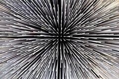 abstrakt begrepp vidfäst svart white för eps-mappmodell Royaltyfri Fotografi