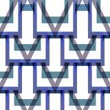 Abstrakt begrepp vinkel, fyrkant, sömlös bakgrund Royaltyfri Illustrationer