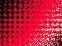 Abstrakt begrepp virvlar runt röd rastrerad bakgrund Royaltyfri Bild