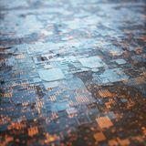 abstrakt begreppbakgrund för struktur 3D royaltyfri bild