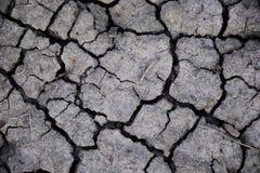 Abstrakt begreppbakgrund för torr jord torka Grå torr jord Smutsa bakgrund cracked bakgrund smutsar Jordmodell Jordtextur spricka royaltyfria bilder