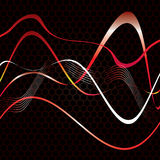 Abstrakt begreppband texturerar på. Fotografering för Bildbyråer