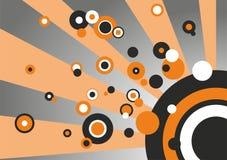 abstrakt begreppbristningscirkel Royaltyfri Foto