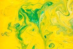 Abstrakt begreppfärger, bakgrunder och texturer Matfärgläggning mjölkar in Fotografering för Bildbyråer