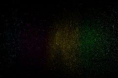 Abstrakt begreppfärgstänk Arkivbilder
