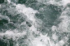 Abstrakt begreppfärgstänk i sötvatten Royaltyfri Fotografi