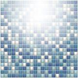 Abstrakt begreppformer av cellerna i form av fyrkanter Royaltyfri Foto