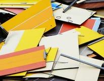 Abstrakt begreppformer och former arkivbild