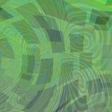 Abstrakt begreppfyrkanter och distorsioner Arkivfoto