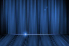 Abstrakt begrepplinjer blå bakgrund vektor illustrationer