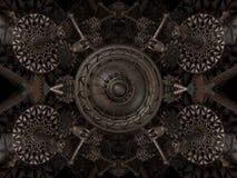 abstrakt begreppsmaskin Arkivfoton