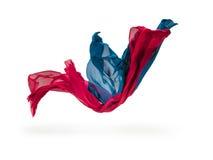 Abstrakt begreppstycken av textilrörelse Royaltyfria Foton