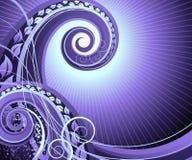 abstrakt begreppswirls Arkivbild