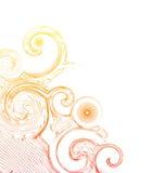 abstrakt begreppswirls Royaltyfri Bild