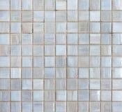 Abstrakt begrepptextur och bakgrund för mosaiska tegelplattor Royaltyfri Foto