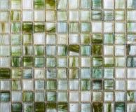 Abstrakt begrepptextur och bakgrund för mosaiska tegelplattor Arkivfoton