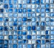 Abstrakt begrepptextur och bakgrund för mosaiska tegelplattor Arkivfoto