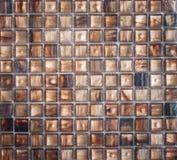 Abstrakt begrepptextur och bakgrund för mosaiska tegelplattor Arkivbild