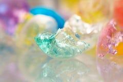 Abstrakt begrepptexturer och modeller av brutna gelébollar Royaltyfri Fotografi