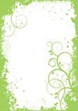 Abstrakt begreppväxter - vektorbakgrund, baner stock illustrationer