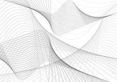 abstrakt begreppwaves Arkivbild