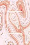 Abstrakt beige affischbakgrund och vätskedesign, tapet stock illustrationer