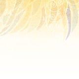 Abstrakt beige blom- bakgrund Arkivbilder