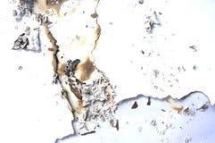 Abstrakt bild av bränt papper royaltyfria foton