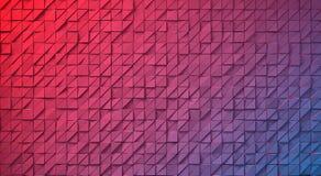 Abstrakt bild av den triangulära modellen Fotografering för Bildbyråer