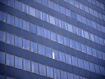 Abstrakt bild av en kontorsbyggnad i Tyler Texas arkivbilder