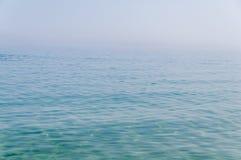 Abstrakt bild av ett hav med dimma Fotografering för Bildbyråer