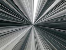Abstrakt bild av mångfärgade linjer av strålar i utrymme Fotografering för Bildbyråer
